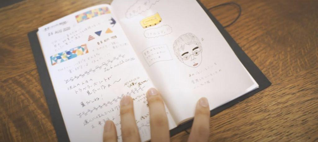 TRAVELER'S FACTORY KYOTO ノート
